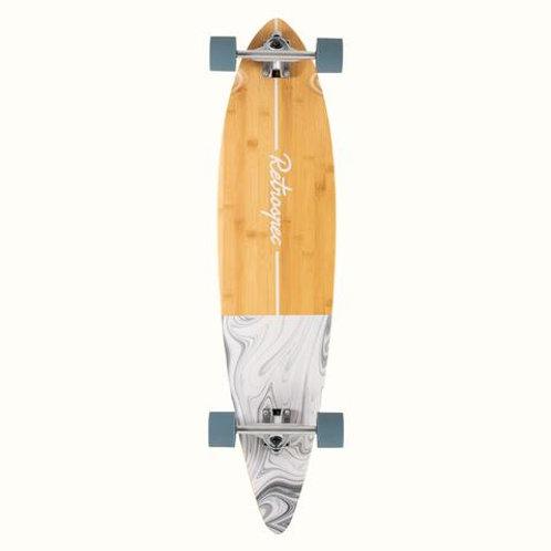 Zed Pintail Longboard Whitecaps