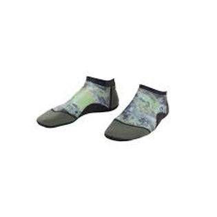 Low Cut Beach Socks Green
