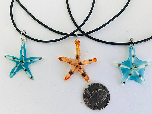 Sea Star Lionfish Spine Necklace