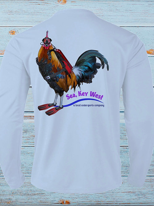 SCUBA Rooster LS Performance Tee