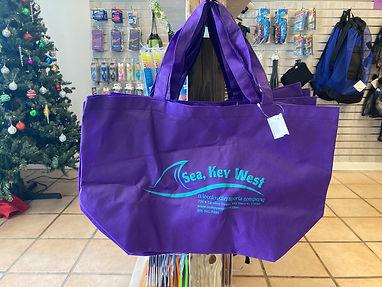 sea, key west reusable bag