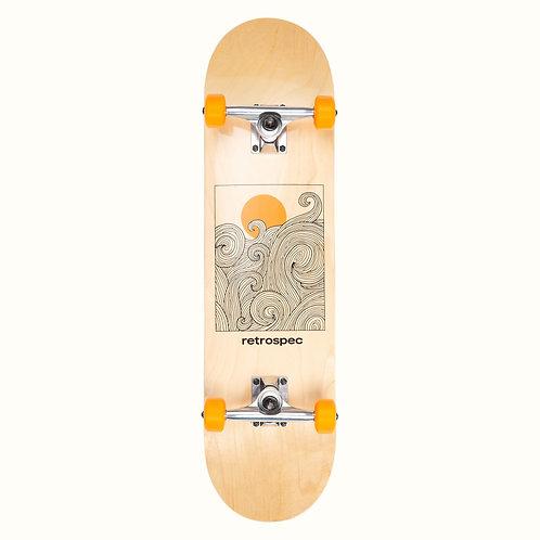 Alameda Skateboard - Tangerine Wave