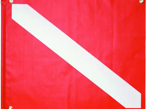 "20 x 24"" PVC Dive Flag with Stiffener"
