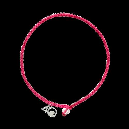 4Ocean Flamingo Braided Bracelet
