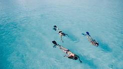 snorkelers in Key West