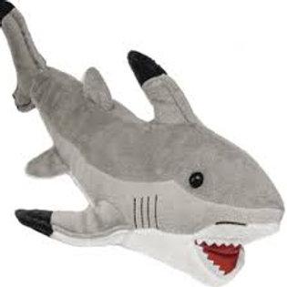 Plush Gray Shark