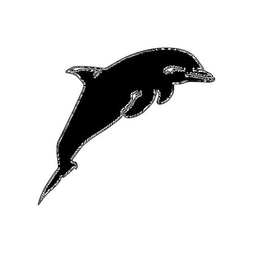 Die Cut Sticker - Dolphin