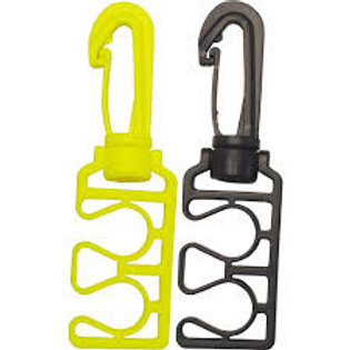 Hose Holder with Plastic Clip