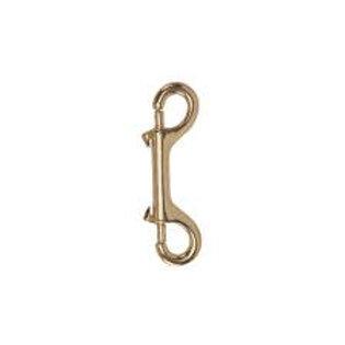 Brass Clip - Double Eye