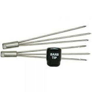 """3-Point 6"""" Spear Tip - Barbed"""