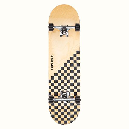 Alameda Skateboard - Black Checker