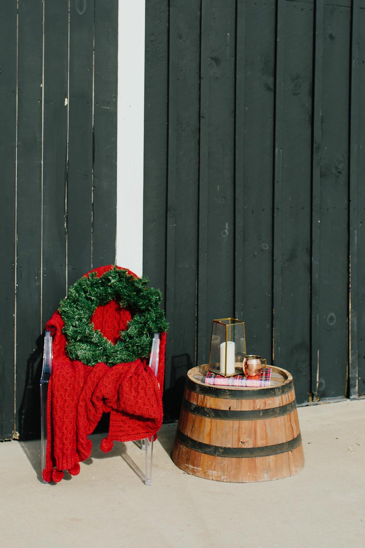 Christmas Barn Decor