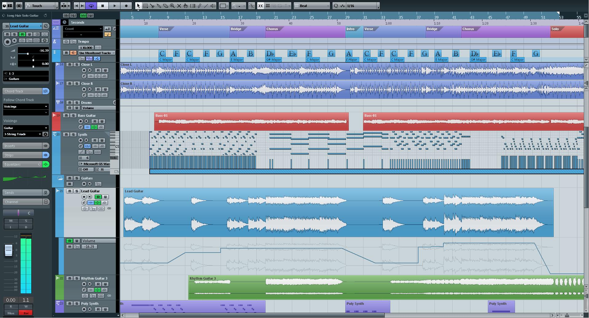 студия звукозаписи Cubase 5