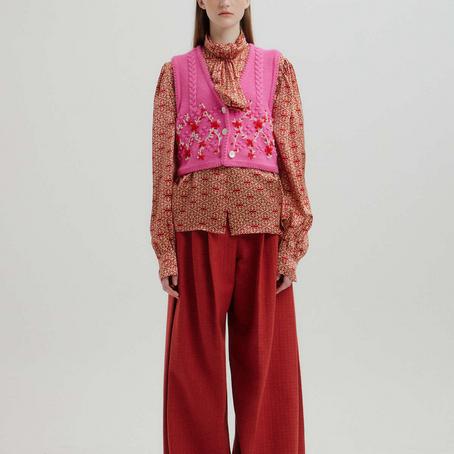Visual conservador na semana de moda de Nova York