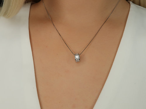 Stephanie Sterling Silver Necklace