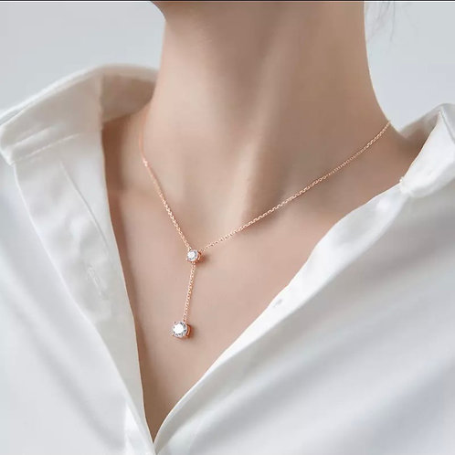 Emily Sterling Silver Necklace