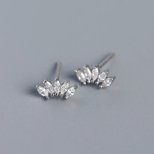 Fiona Delicate Sterling Silver Earrings