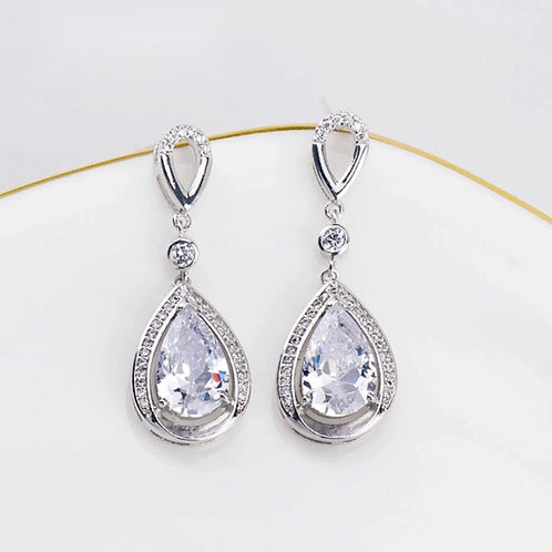 Sasha Earrings In Silver