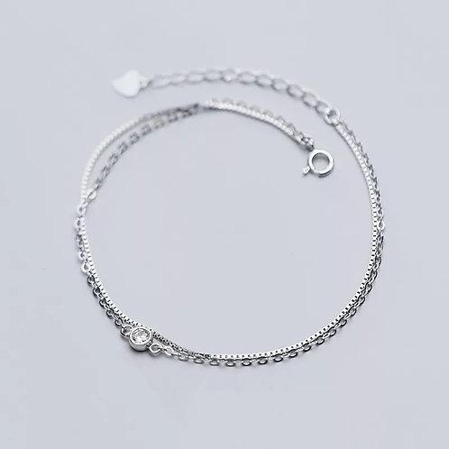 Aoife Sterling Silver Bracelet