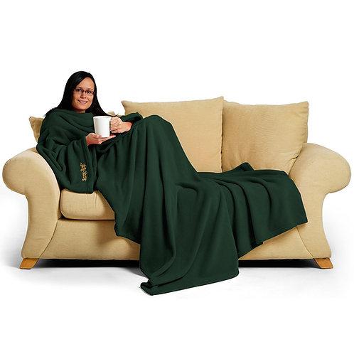 Green Quartz Snug-Rug DELUXE Blanket With Sleeves