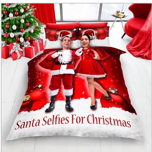 Santa Selfie Duvet Set