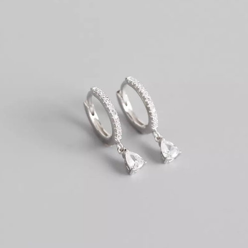 Hazel Delicate Sterling Silver Earrings