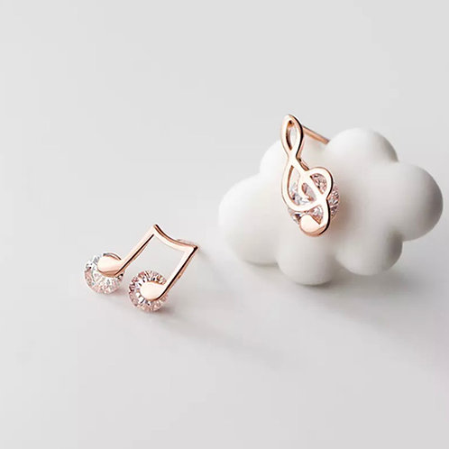 Zoe Sterling Silver Earrings