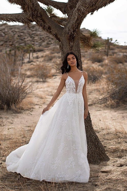 The Saphire Bridal Gown