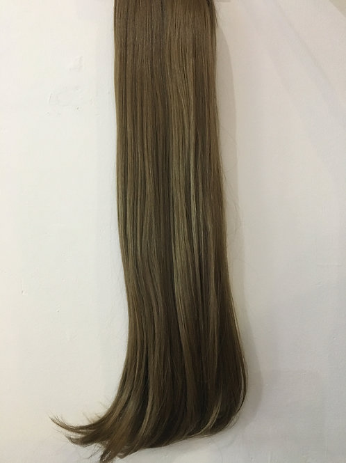 Harvest Blonde Straight Clip In 3 Piece Hair Extensions