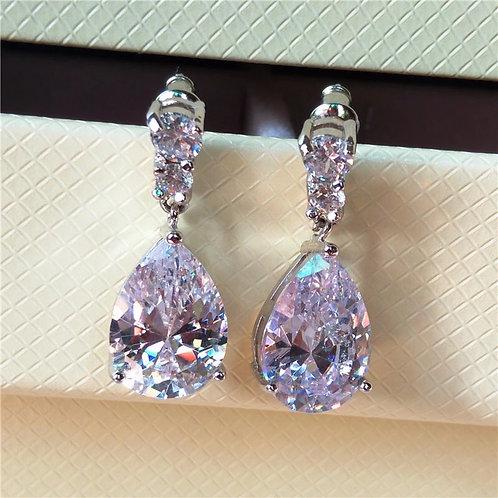 Margot Earrings In Silver