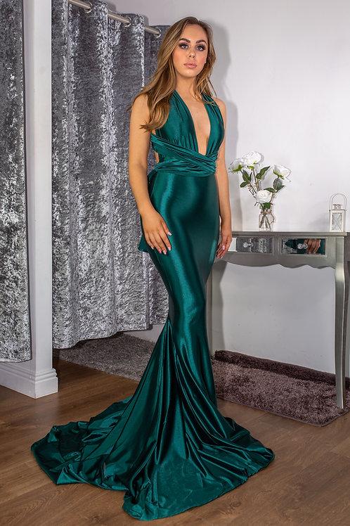 Mia Multiwrap Gown