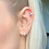 Thumbnail: Ava Delicate Sterling Silver Earrings