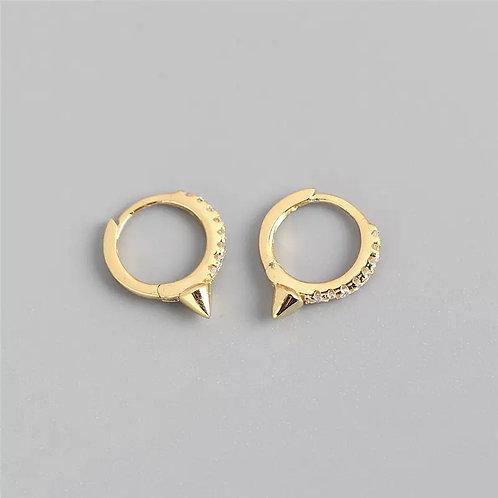 Ava Delicate Sterling Silver Earrings