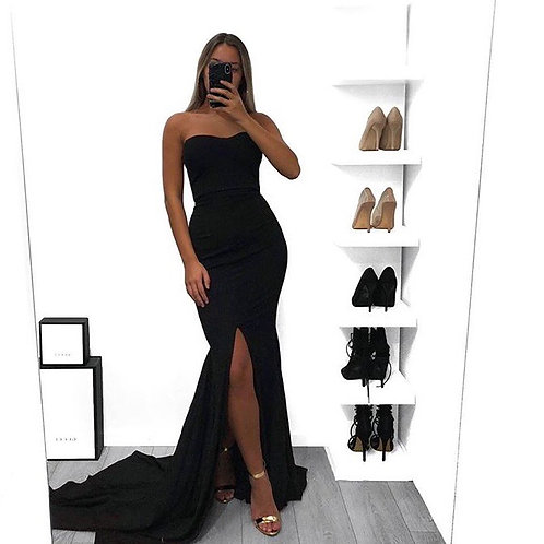 The Tia Gown Black