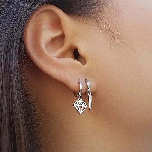 Mia Delicate Sterling Silver Earrings