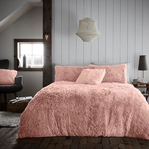 Hug And Snug Duvet Set Pink Double