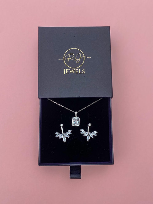 Gift Set Silver Colour Sterling Silver