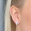 Thumbnail: Sophia Sterling Silver Earrings