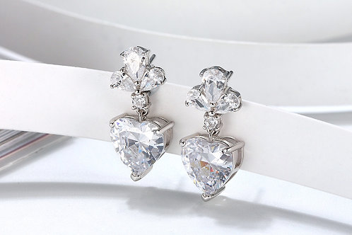 Melissa Chandelier Sterling Silver Earring