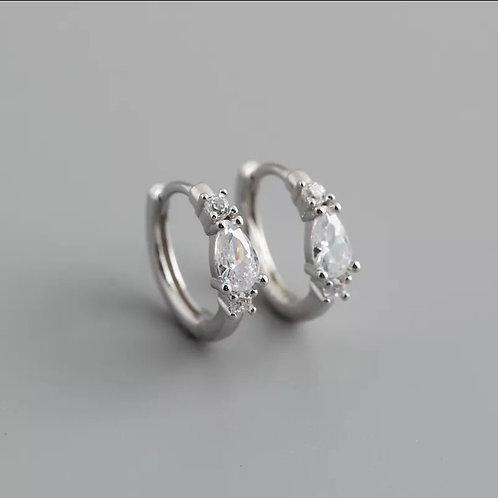 Erin Delicate Sterling Silver Earrings