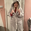 Thumbnail: Ladies Glitter Thread Gown With Bear Hood