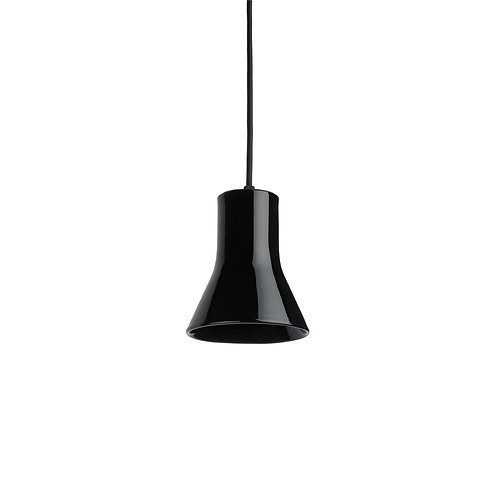 Keramické svítidlo YPSEN - černý lesk