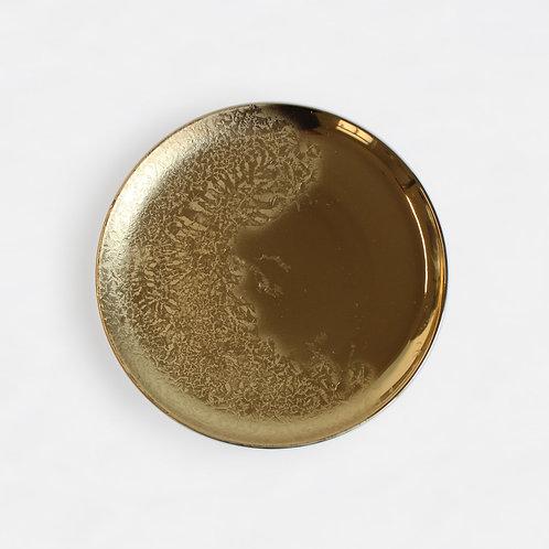 Talíř Fryst zlatý a platinový