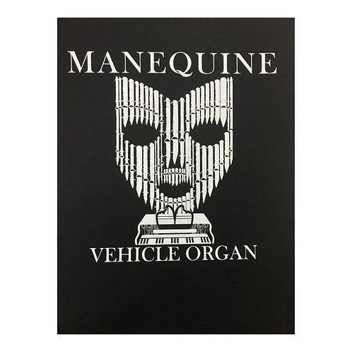 Manequine Vehicle organ - autorský sítotisk