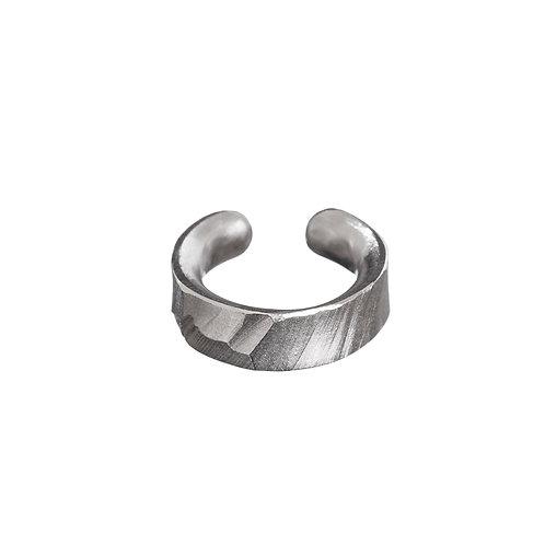 Ear Cuff Cropped stříbrný