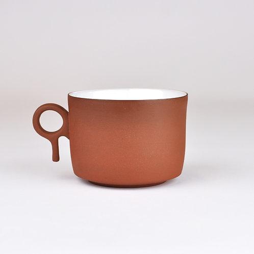 Porcelánový hrnek na čaj - vysoký