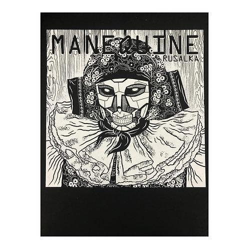 Manequine Rusalka - autorský sítotisk