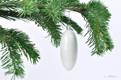 Vánoční porcelánové ozdoby