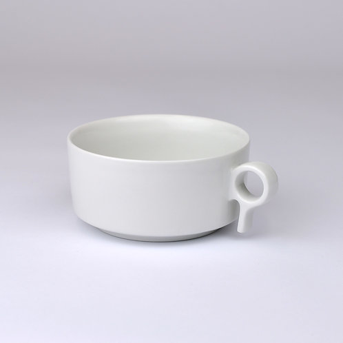 Porcelánový hrnek na čaj - nízký