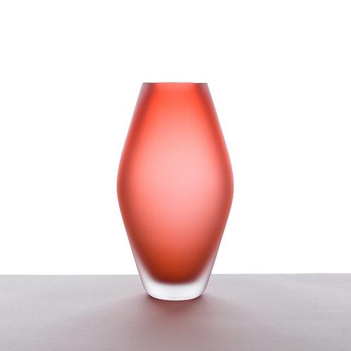 Váza Lastura červená